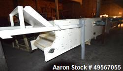Used- (3) Station Discharge Belt Feeder. Last used to feed 3 Stor-Veyors.