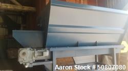Unused- Cleated Conveyor, 10 yd capacity