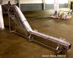 Used- Autopack Inclined Belt Conveyor