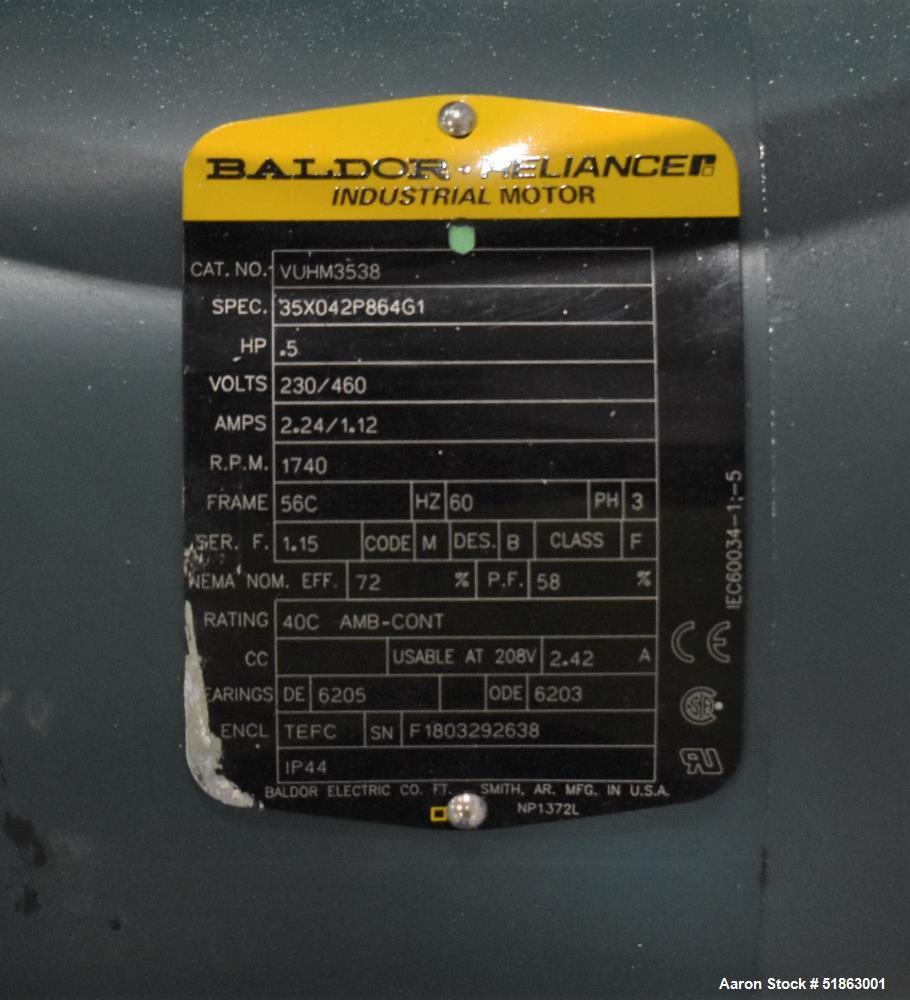 Used-Spantech Roller Conveyor.