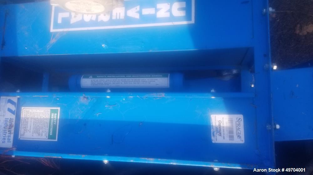 Used- Universal Industries Bucket Elevator, Model C3-175ED