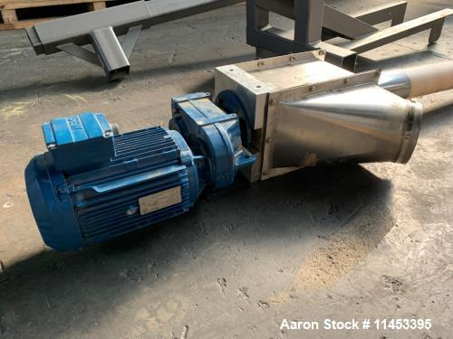 Used- AMS Flexible Auger Feeder, Model FA-800
