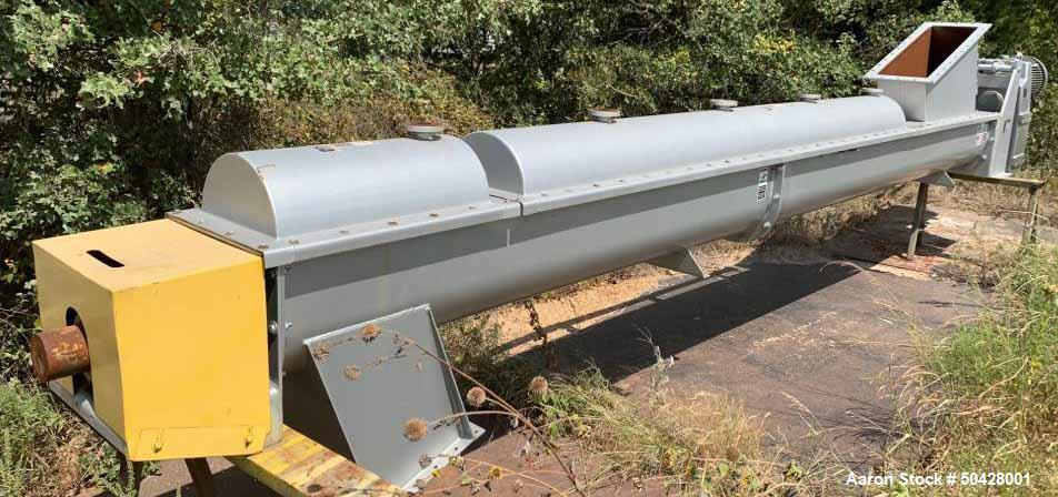 Unused- KWS Inclined Screw Conveyor