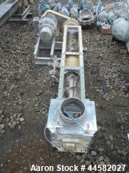 Used- Stainless Steel Screw Conveyor