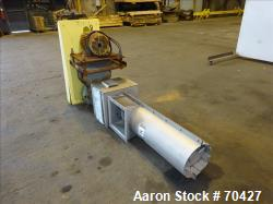Used-Unused Stainless Steel KWS Screw Conveyor, Model 9x3-3