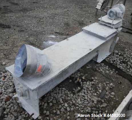 Used- Stainless Steel Screw Conveyor