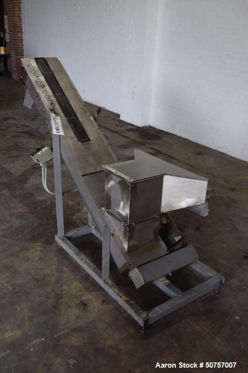Used- Inclined Screw Conveyor