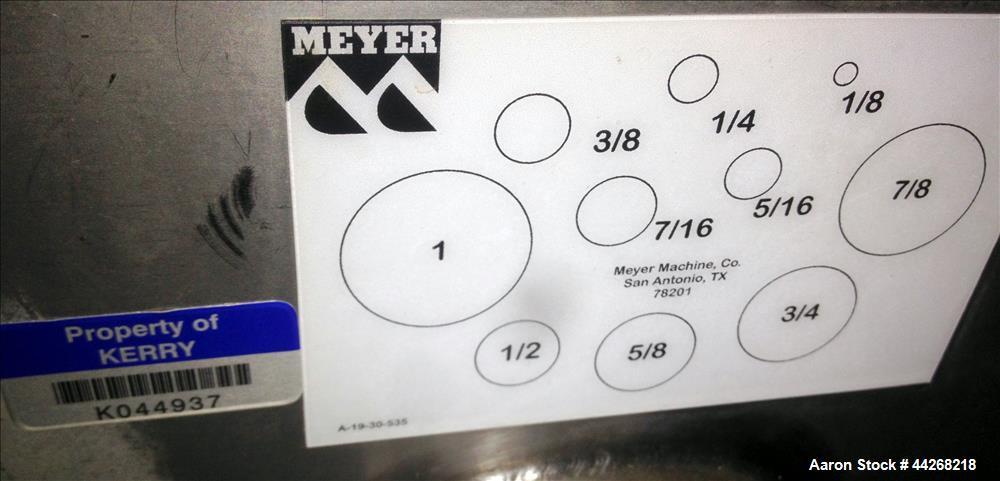 Used- Shaker Dewatering Conveyor.