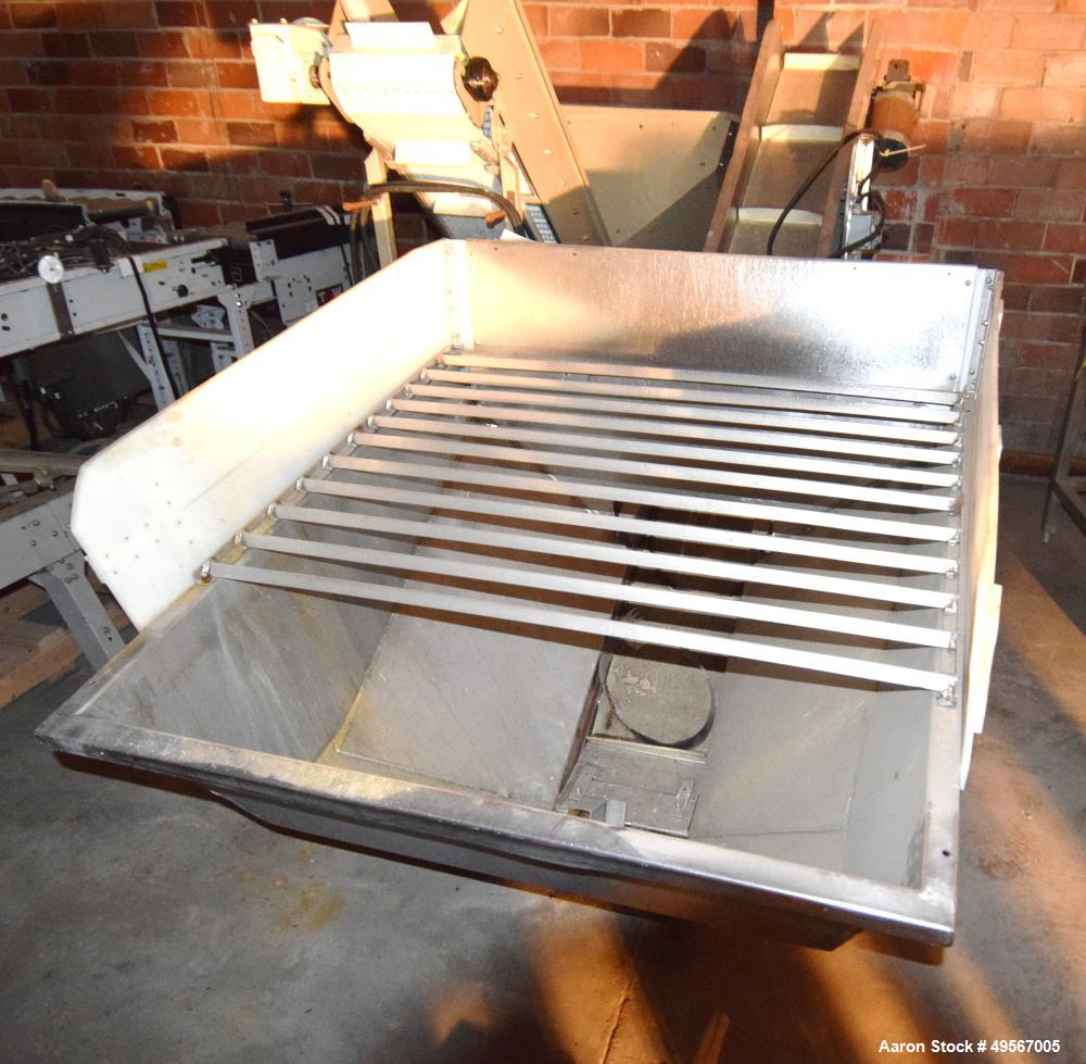 Used- Inclined Rubber Belt Conveyor