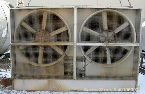 USED: Baltimore Air Coil cooling tower, model FXT 160.  Nominal capacity 160 tons, dual 38,300 cfm .  fans driven by an appr...
