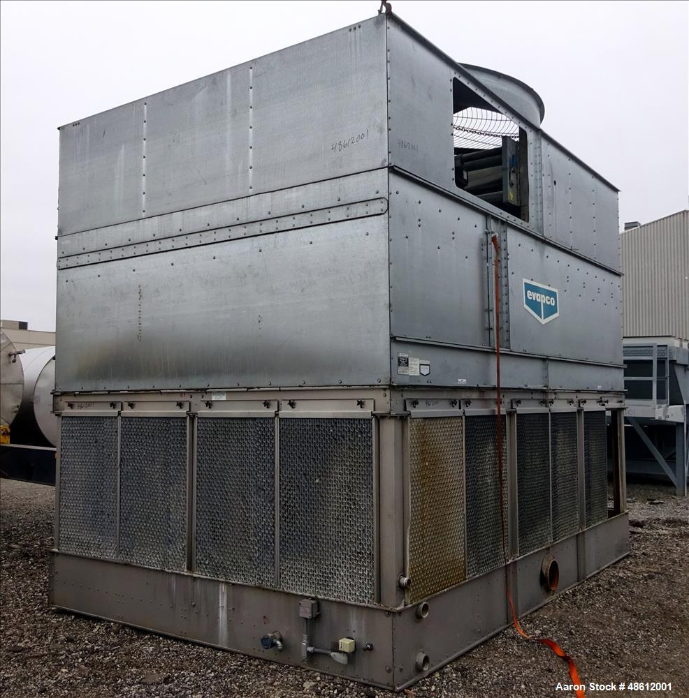 Used- Evapco Induced Draft Counterflow Cooling To