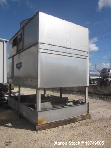 Used- Evapco, Model AT8-912B, 285 Tons, Open Loop Cooling Tower. Stainless 304, 855 GPM, 20hp 1705 rpm. Overall length: 12'0...