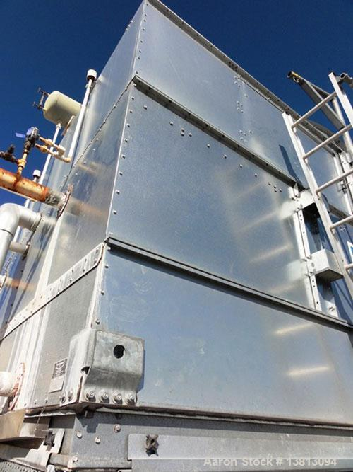 Used-Evapco Cooling Tower, 800 ton, model ATC-892B.  60 Hz, 480 volt.  Mounted on an I-beam frame.