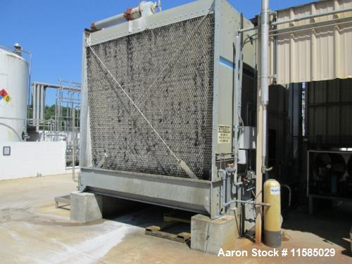 "Used- Marley Cooling Tower, Model NC 5121. 450 ton, AB controls, 20 hp centrifugal pump. 6"" x 6"", 3 phase 60 cycle 230/460 v..."