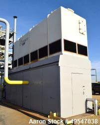 Used- Advantage Engineering 3 Cell Fiberglass Cooling Tower System, Consisting Of: (1) Advantage Engineering 3 Cell Fibergla...