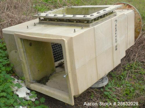 Used- Tower Tech Cooling Tower, Approximate Tons, Model EF-378-301, Fiberglass Construction. Rated gallons per minute. Inclu...