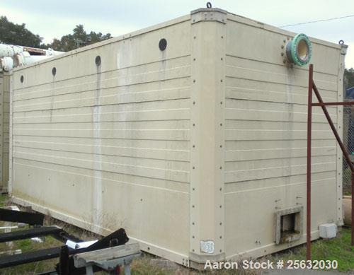 Used- Tower Tech Cooling Tower, Model TTMT-288-319, fiberglass construction. Rated gallons per minute. Includes misc piping ...