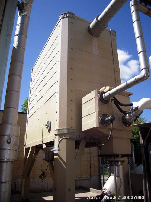 Used- Tower Tech Inc. Cooling Tower, 133 Tons, Model TTMT-72-319, Fiberglass Construction. Single cell, (2) approximately 42...