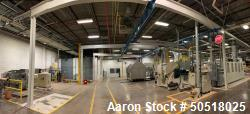 Used-GORBEL 4000 POUND CRANE SYSTEM WITH 2 TON JLC COFFING HOIST AND DILLON 5,000 POUND SCALE