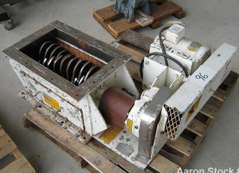"Used-Scott Dominator Crusher, Model CR12-20S.  12"" x 20"" ionlet, rotor blades are 1/2"" thick, distance between stationary ba..."
