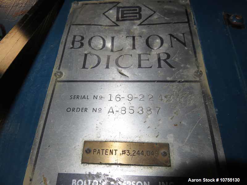 """Bolton- Emerson 9"""" Entrance Dicer."""