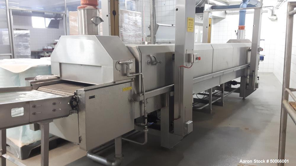 Used- Ermatec Ultrasonic Type ERMA 30C Cheese Cutting System.