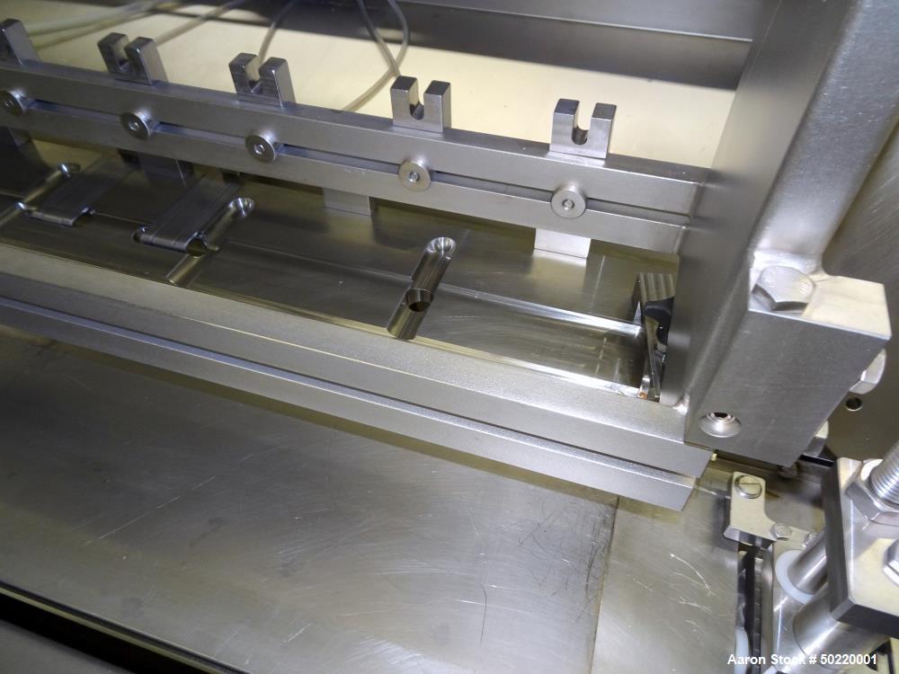 Used- Grote Model 640-E Slicer / Applicator, 304 Stainless Steel.