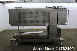 Used- Alimec Pepperoni Slicer, Model SLICER, Stainless Steel.