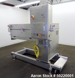 Used- Grote Model 640-E Slicer / Applicator, 304 Stainless Steel.