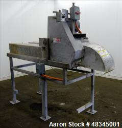 Used- Urschel Belt-fed Dicer/Strip Cutter, 304 Stainless Steel.