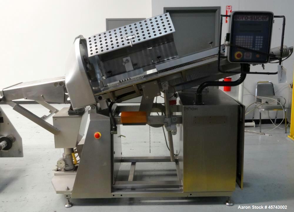 Used- GEA Dixie Union Euro Slicer, Model SL 484.