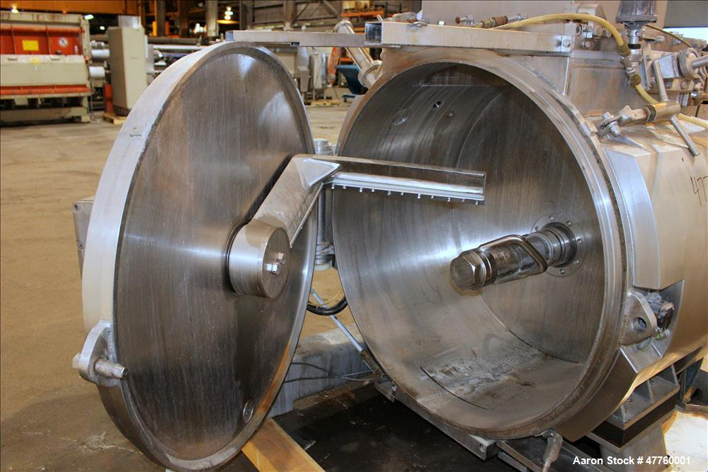 Used- Stephan TC Combicut Mixer, Model TC 600, 304 Stainless Steel.