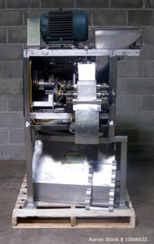 Used-Urschel Model RA-A Cutter Slicer. Three dimensional dicer features a wide selection of speeds and knife styles to give ...