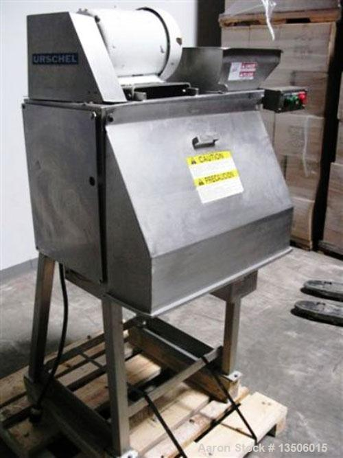 Used-Urschel RA-D Cutter Slicer. Three dimensional dicer features a wide variety of speeds and knife styles to give excellen...