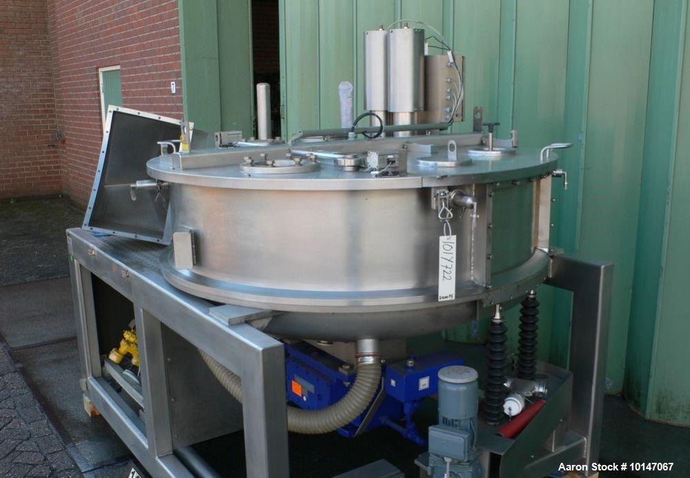 Used- Glatt Systemtechnik GmbH Dresden Noduliser/Spheronizer, Type P-140