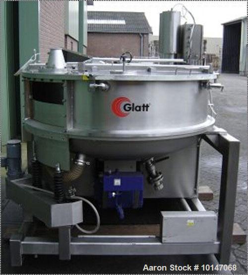 Used-Glatt Systemtechnik GmbH Dresden Noduliser/Spheronizer, Type P-140