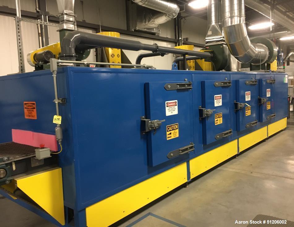 Used- Davron Technologies Conveyor Oven / Dryer