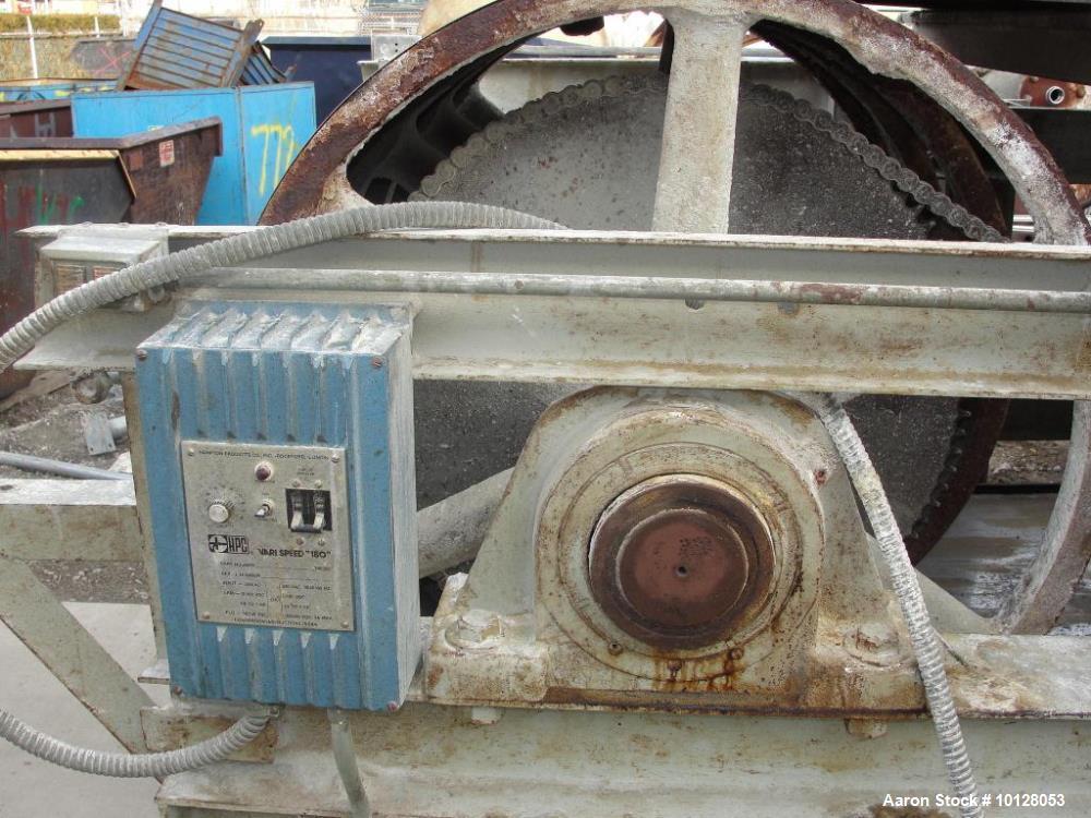 Used- Sandvik Stainless Steel Belt Flaker
