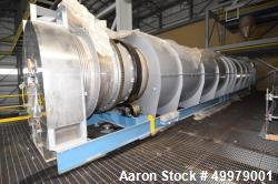 Unused- Lochhead-Haggerty Gas Fired Calciner Rotary Kiln, 316L Stainless Steel.