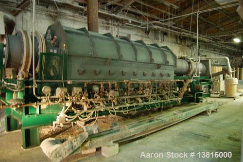 Used- Posey Iron Works Indirect Gas Fired Rotary Calciner