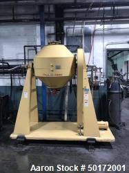 Used- Paul O. Abbe Model RCD-36 Rota-Cone Vacuum Dryer
