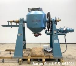 Used- Paul O. Abbe Rota Cone Vacuum Dryer, Model RCVD30S