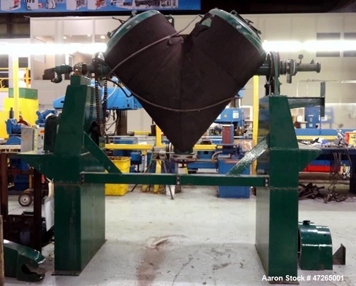 Used- Patterson-Kelley Twin Shell Solids Processor