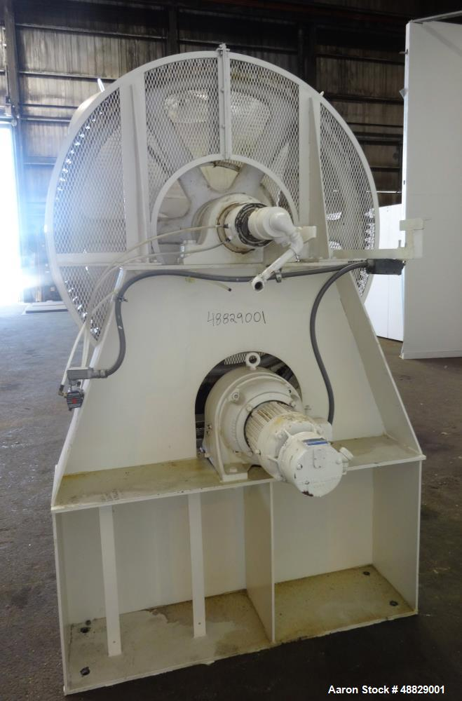 Used- Patterson Kelly Twin Shell Vacuum 'V' Blender