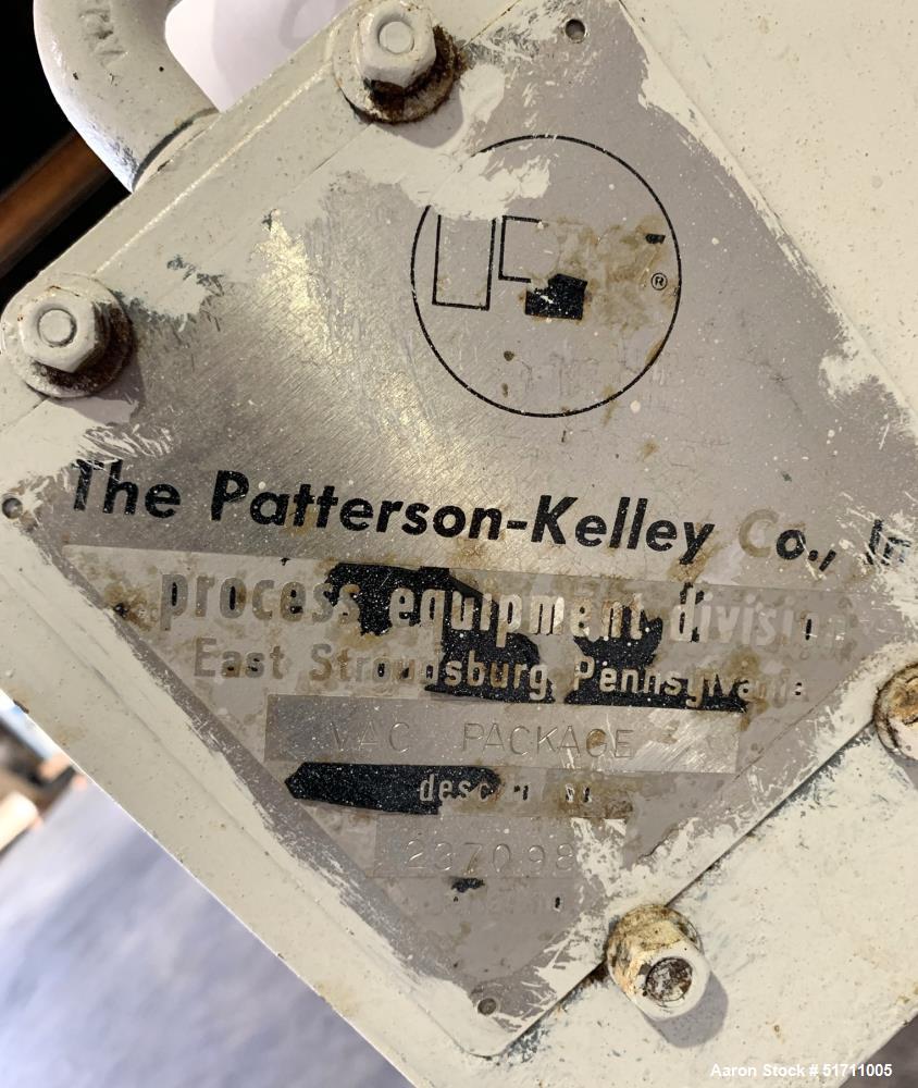 Patterson Kelley (PK) 3 Cubic Foot Twin Shell Solids Processor