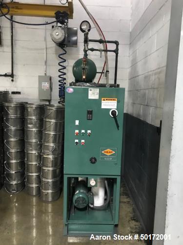 Used- Paul O. Abbe Model RCD-36 Rota-Cone Vacuum Dryer