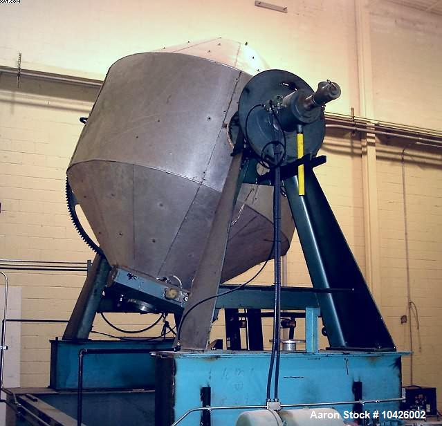 Used- Paul O Abbe Rota-Cone Vacuum Dryer, Model 78RCVD