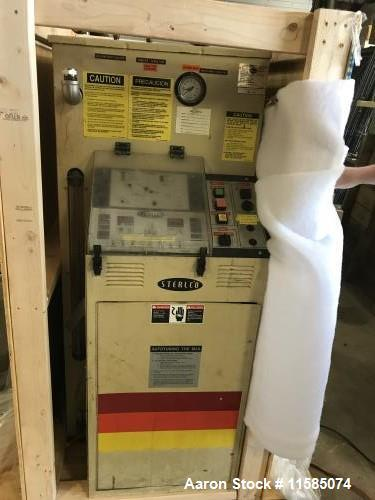 Used-Paul Abbe Model RCVD 30 Double Cone Vacuum Dryer