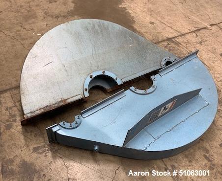 Used- Paul O. Abbe Rota Cone Vacuum Dryer, Model RCVD30S