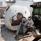 Used- Stainless Steel Patterson Industries Double Cone Vacuum Dryer
